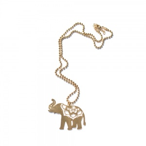 Indian Gold Elephant